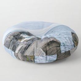 Icelandic Shore Floor Pillow
