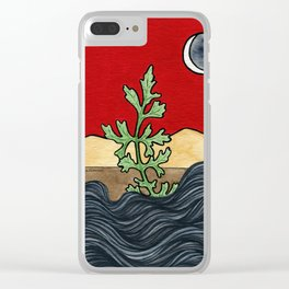 Extinction Day Clear iPhone Case