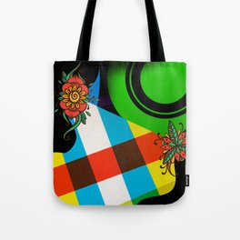CrazyCollage Tote Bag