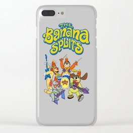 The Banana Splits Clear iPhone Case