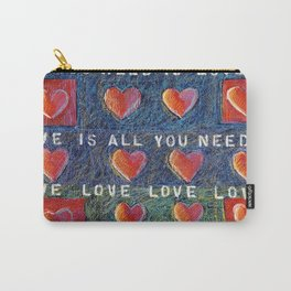 All You Need Is Love 3 Carry-All Pouch