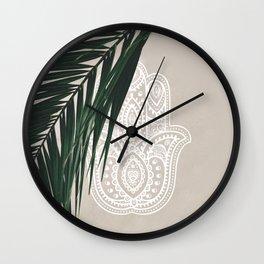 HAMSA #3 Wall Clock
