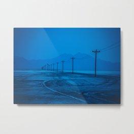 Utah Salt Flats Metal Print