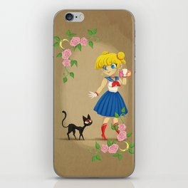 Retro Sailor Moon iPhone Skin