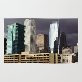 Cloudy Times in Los Angeles Rug