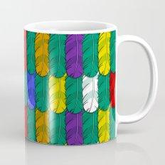 Feathers Pattern Coffee Mug