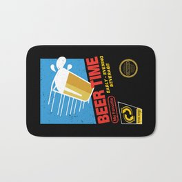 Beer Time Bath Mat