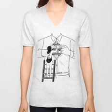 Read all about you Unisex V-Neck