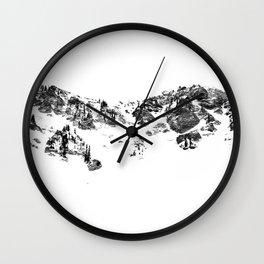 Alta Wall Clock
