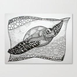 Turtlelove Canvas Print