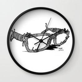 Lentes de pasta Wall Clock