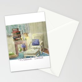 Weekend: Sorted - Watercolor Painting Stationery Cards