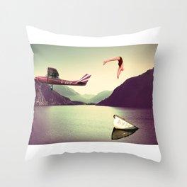 Coste de oportunidad Throw Pillow