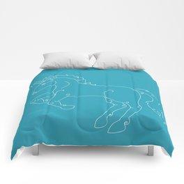 Unicorn Banner Comforters