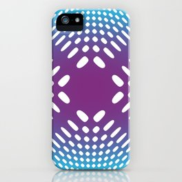 Holey Pattern II iPhone Case