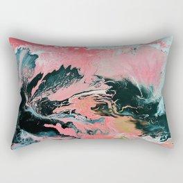 Coral Overture Rectangular Pillow