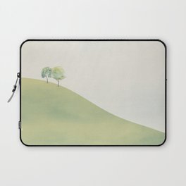 Green Sunny Field III Laptop Sleeve