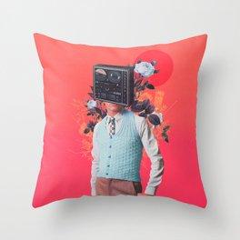 Phonohead Throw Pillow