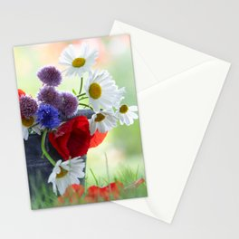 Flower potpourie from the cottage garden Stationery Cards