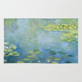 Water Lilies 1906 by Claude Monet Rug