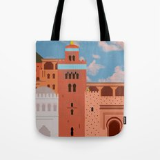 Moroccan Arch Tote Bag