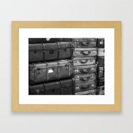 Travelling. Framed Art Print