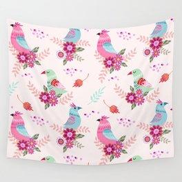beautiful birds Wall Tapestry