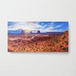 Monument Valley, Utah No. 2 Metal Print