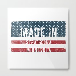 Made in Strathcona, Minnesota Metal Print