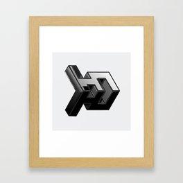 Projectile Framed Art Print
