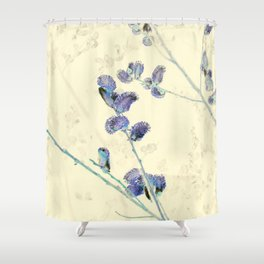 Pussy Willows 4 - IA Shower Curtain