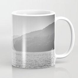 Sea and foggy mountains Coffee Mug