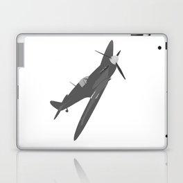 Silver Spitfire Laptop & iPad Skin