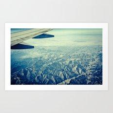 The flight home Art Print