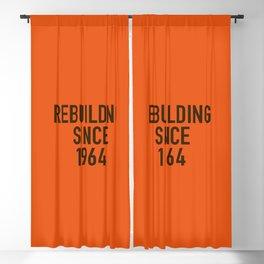 Rebuilding Since 1964 Blackout Curtain