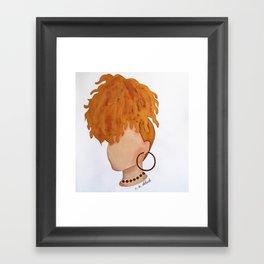 """""""Hey, Honey"""" Framed Art Print"""