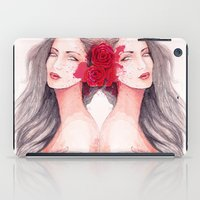 gemini iPad Cases featuring Gemini by Annarki