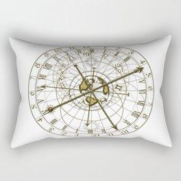 metal astronomical clock Rectangular Pillow