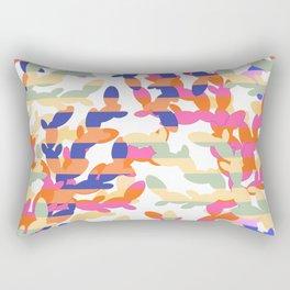 Cactus abstraction Rectangular Pillow