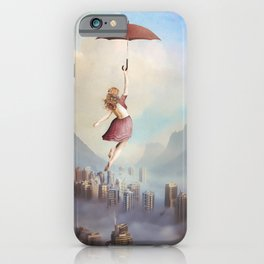 Fly Away Into Freedom iPhone Case