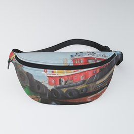 Tugboats on Penobscot Bay Fanny Pack