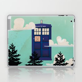 I want to Believe retro telephone box Laptop & iPad Skin