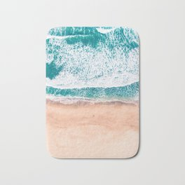 Faded ocean life Bath Mat
