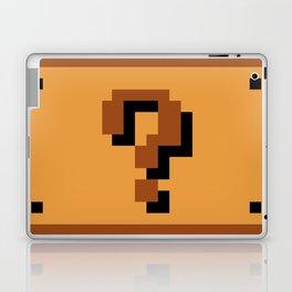 Question Block Laptop & iPad Skin