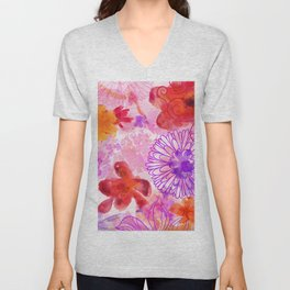 Bouquet of Dreams Unisex V-Neck