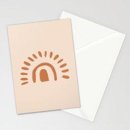 Sun Boho Earth Tones  Stationery Cards