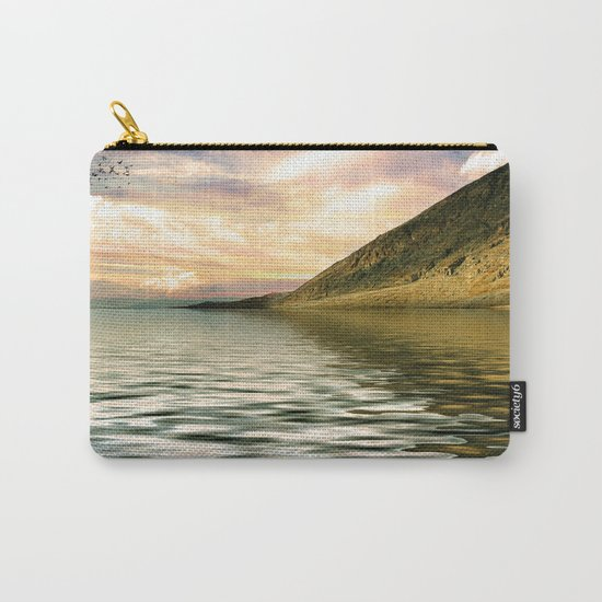mountain lake 4 Carry-All Pouch