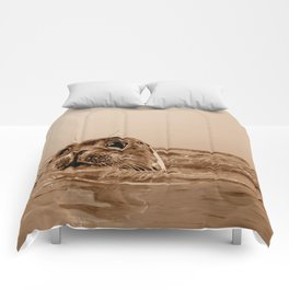 The SEAL - sepia 17 Comforters
