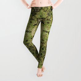 Forest fairy floral,nature, woodland, hippie, mandala, psychedelic Leggings