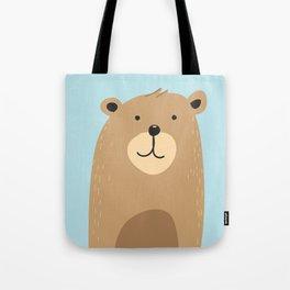 Cute bear Tote Bag
